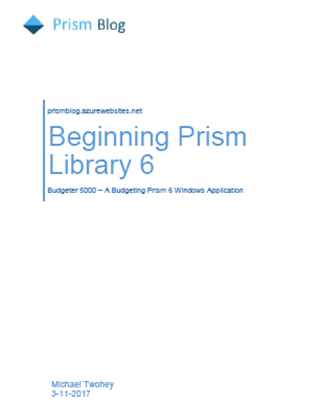 Picture of Beginning Prism Library 6